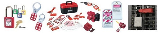 Lockout Tagout (LOTO) Supplies