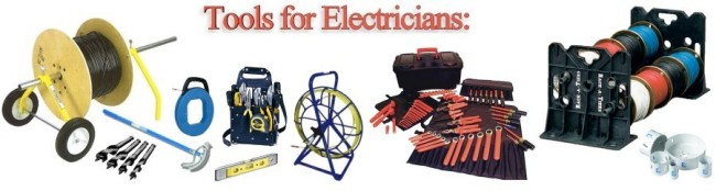Tools for Electricians, Installers, Maintenance & Service Technicians