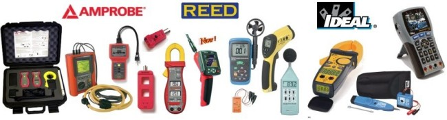 Large Selection of Test Equipment For Electrical, HVAC, Test & Measurement