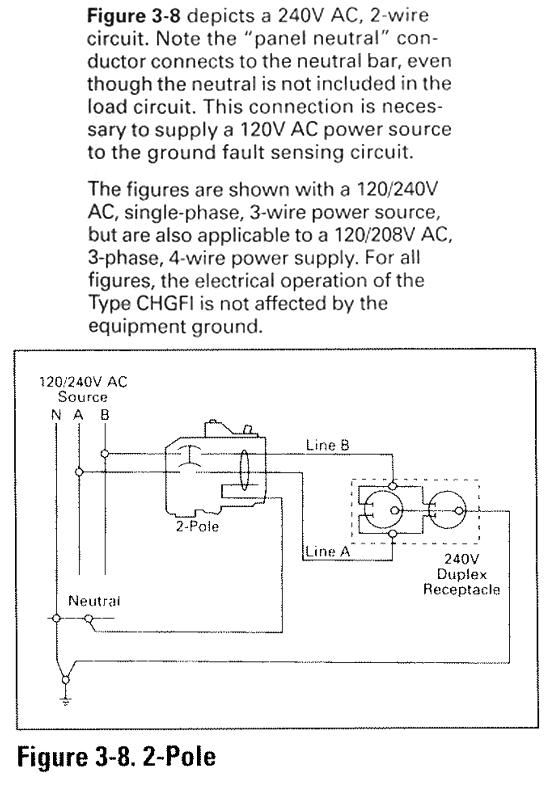 2 Pole Gfci Breaker Wiring Diagram Nilzanet – Gfci Breaker Wiring Diagram