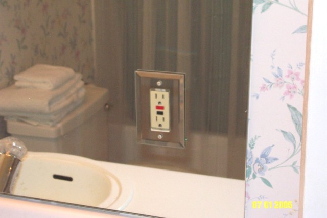 Receptacle in Mirror - ECN Electrical Forums