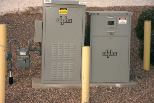 Catv Power Unit With A Gas Line Ecn Electrical Forums