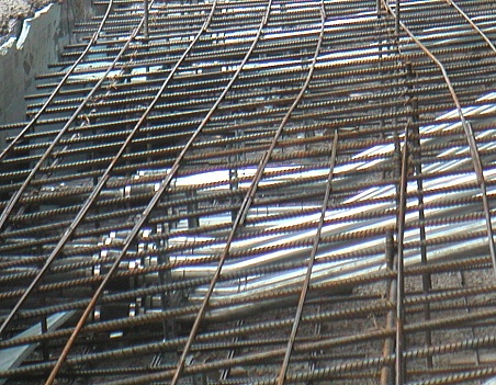 Embedded Rigid Metal Conduit In Building Slab