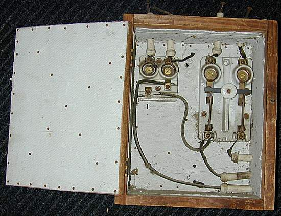 early fuse box ecn electrical forums rh electrical contractor net Knob and Tube Wiring Old Fuse Box