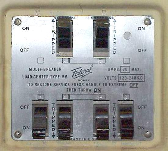 [NRIO_4796]   Federal Panel circa 1950s - ECN Electrical Forums | Federal Fuse Box |  | Electrical Contractor Network