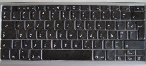 how to say computer keyboard in french