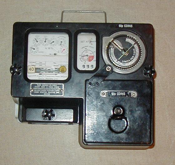 Electricity Coin Meter : Old p coin electic meter moneysavingexpert forums