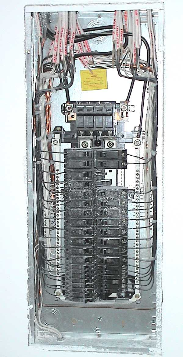 Service1b  Amp Service Panel Wiring Diagram With Subpanel on