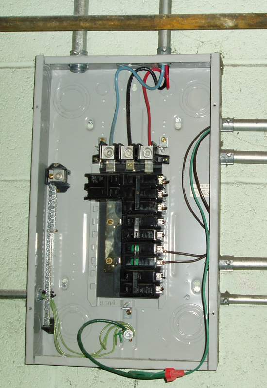 6 on a 150a breaker ecn electrical forums for How to size an electrical panel