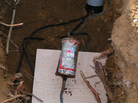 how to find underground electrical wires