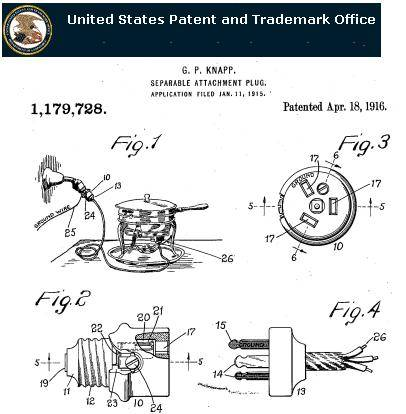 Seems_that_these_crowfoot_connectors_have_existed_as_far_back_as_1916,_as_seen_at_the_US_Patent_office_http://patft.uspto.gov/netahtml/PTO/srchnum.htm,_look_for_patent_number_1179728_(type_this_number_in_the_search_box,_and_on_the_next_screen_click_