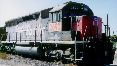 Change of pace locomotive pics and data ecn electrical for General motors parts division